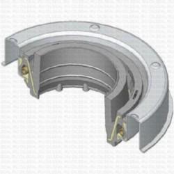 Сальник 35x72.5/76x12.5/19 Y NBR 70-C-C WLK