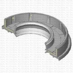 Сальник 40x74/80x14.5 TC4Y NBR 70-C-C WLK