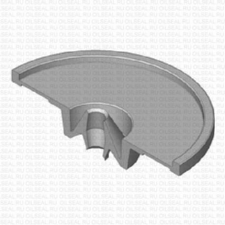 Сальник 5x22/53x11 FLAT NBR 70-C WLK