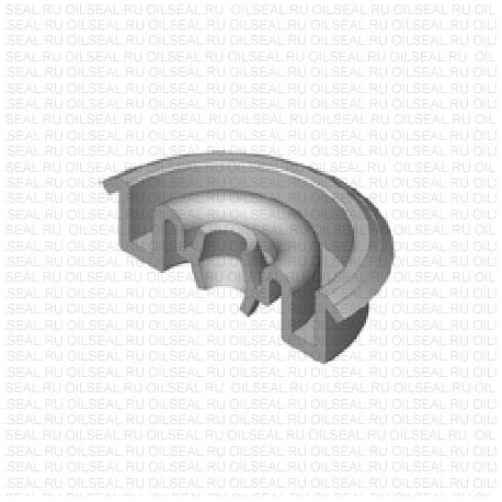 Сальник 5x26.5/31.5x8 Y NBR 70-C WLK