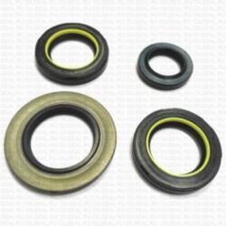Уплотнение Сальники для рулевой рейки Nissan Almera N16 - Nissan Primera P12 - Ремкомплект oils19 RTI-M
