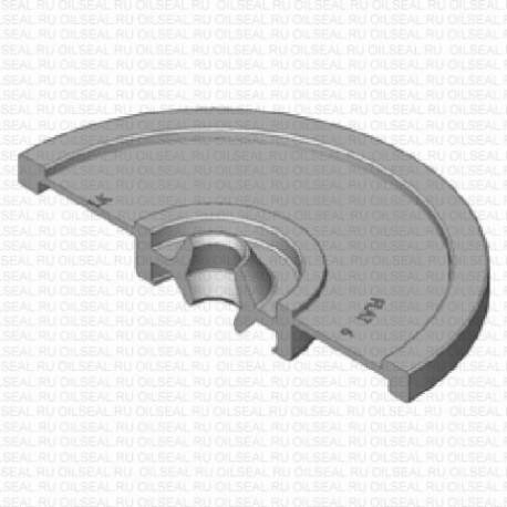 Сальник 6x21/53x8 FLAT NBR 70-C WLK