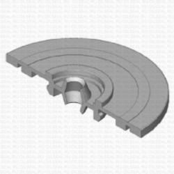 Сальник 6x22/59x8/11.5 Y NBR 70-C WLK