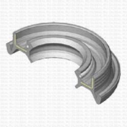Сальник 25x47/54x12.5 TGY NBR 70-C-C WLK