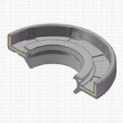 Сальник 25x52x8/11.5 TG9Y NBR 70-C-C WLK